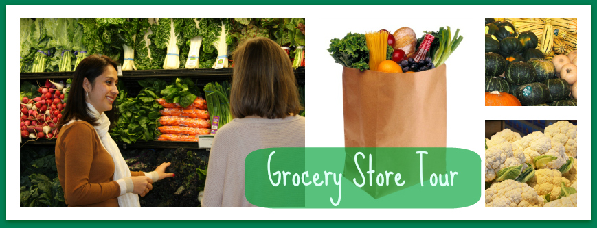 grocery store tour header