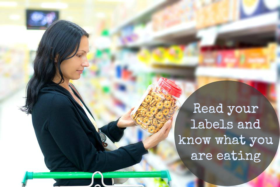 read your labels and know what you are eating with text