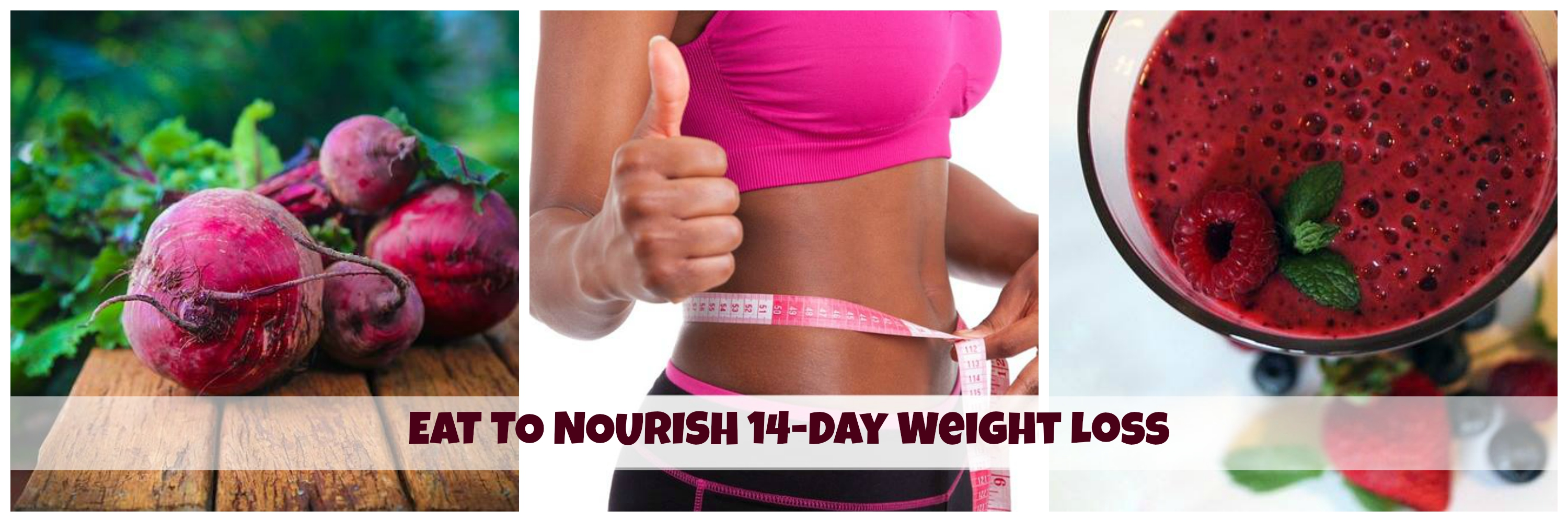 Eat to nourish weight loss banner